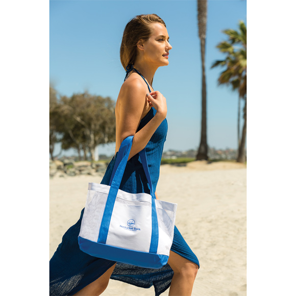 BB104 - Catalina Mesh Beach Bag