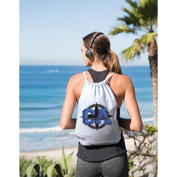 BB209 - Sweatshirt Drawstring Backpack