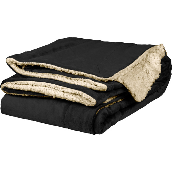 DP1709 - Micro Mink Sherpa Throw