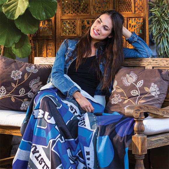 DP2218 - Oversize Heather Gray Sweatshirt Blanket