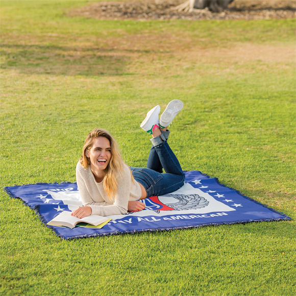 DP24001 - Sublimated Tapestry Throw