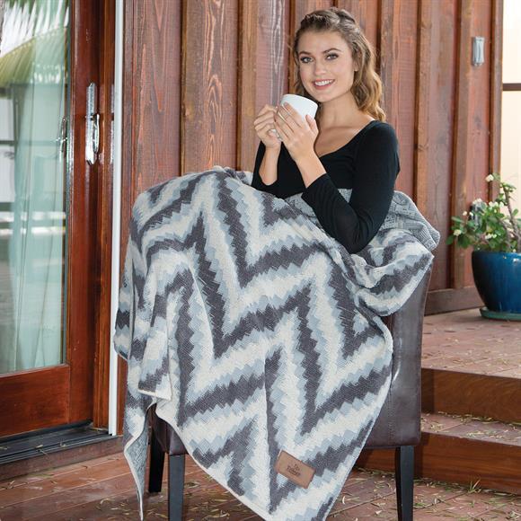 DP2802 - Chevron Berber Blanket