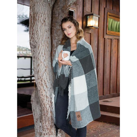 DP2902 - Yorkshire Plaid Wool Blanket