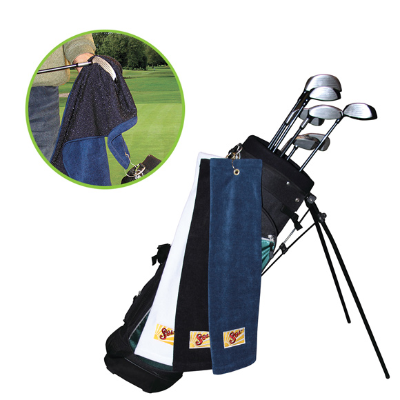 GP1204TR or CL - Microfiber Scrubber Golf Towel