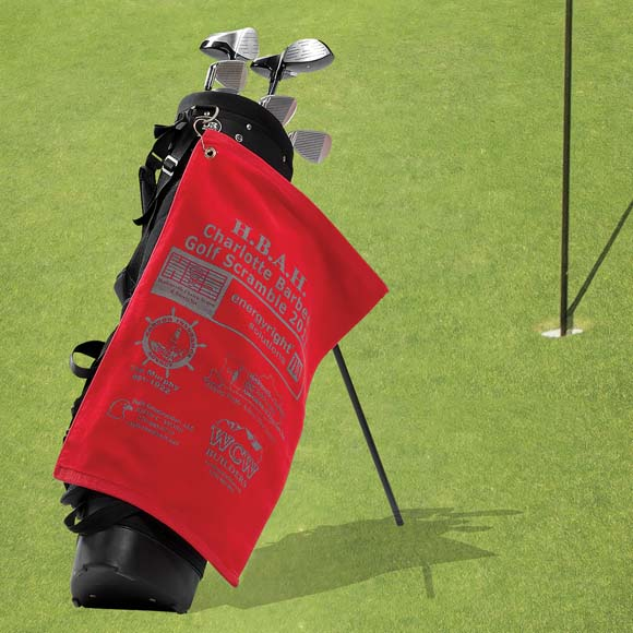 GV1201TR - Premium Velour Golf Towel