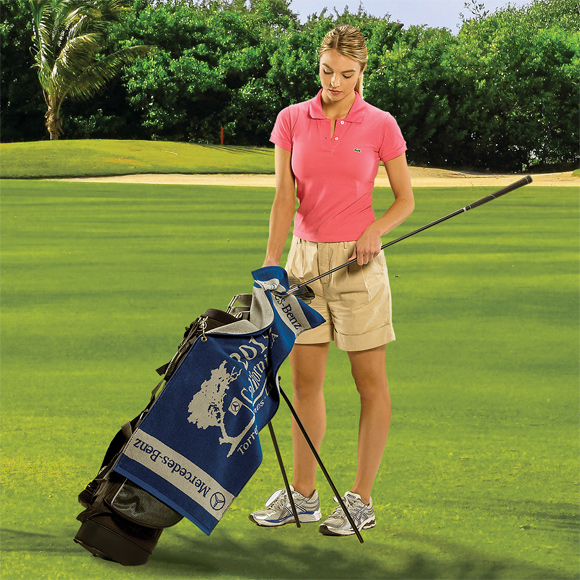 JL1116CL - Jacquard Loop Terry & Velour Golf Towels
