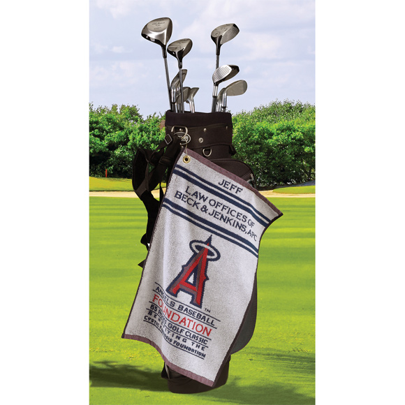 JL1624CL - Jacquard Loop Terry & Velour Golf Towels