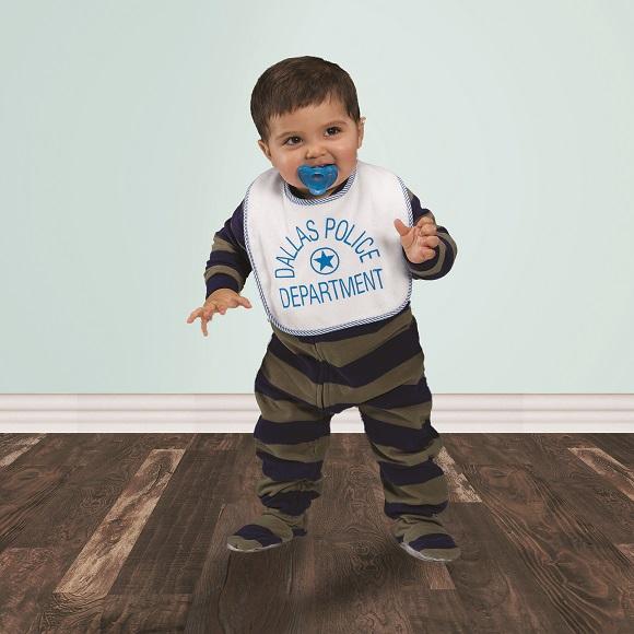 KK1603 - Two Layer Knit Terry Baby Bib