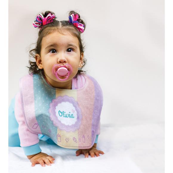 KK1609 - Subli-Plush Baby Bib