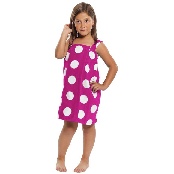 KV1812 - Girl's Designer Spa Wraps