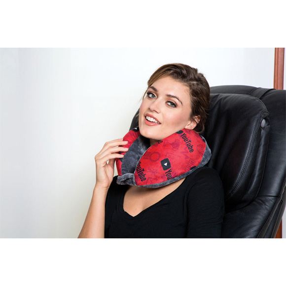 PN1001 - Memory Foam Travel Pillow