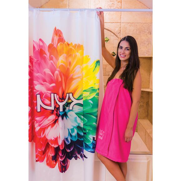 SHWC01 - Sublimated Shower Curtain