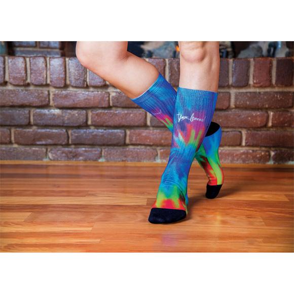 SP1001 - Sublimated Crew Socks