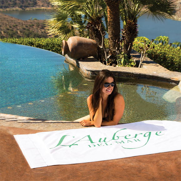 TL1314 - King Size Ultra-Soft Loop Terry Beach Towel