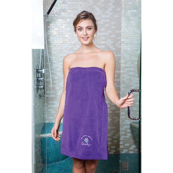 WV5001 - Women's Premium Terry Velour Spa Wrap