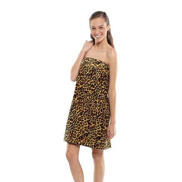 WV5013 - Designer Spa Wraps Leopard