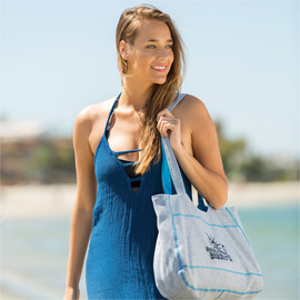 Sweatshirt Beach Bag