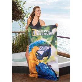 Subli-Plush Velour Beach Towel