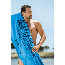 Promotional Velour Beach Towel