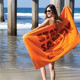 Premium Velour Beach Towel