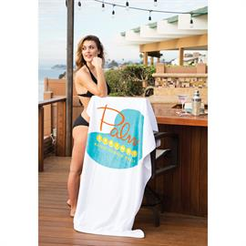 Billboard Size Heavyweight Velour Beach Towel