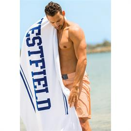 Presidential Plush Velour Beach Towel