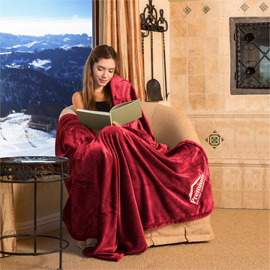 Oversize Tahoe Microfleece Throw