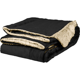 Micro Mink Sherpa Throw