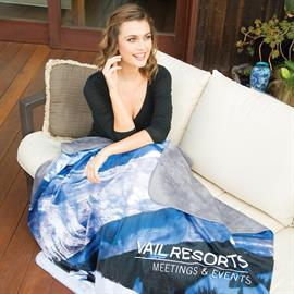 """Alpine"" Sublimated Lap Blanket"