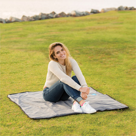 Lined Polar Fleece Picnic Blanket