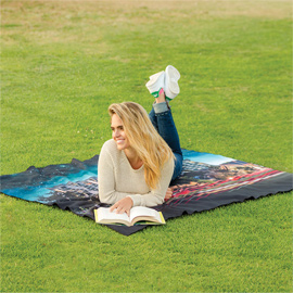 Water Repellent Microfiber Picnic Blanket
