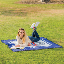 Sublimated Tapestry Throw