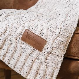 Aberdeen Cable Knit Chenille Blanket