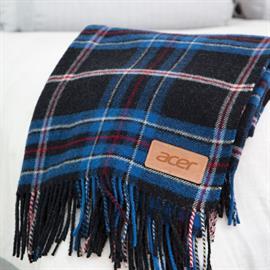Newcastle Plaid Wool Blanket