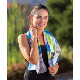 Subli-Cotton Terry Velour Fitness Towel