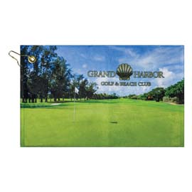 Traveler's Microfiber Terry Golf Towel