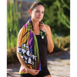 Traveler's Microfiber Terry Fitness Towel
