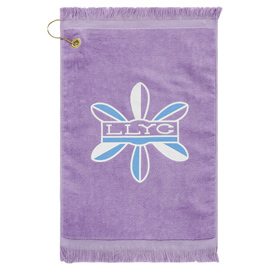 Premium Fringed Velour Golf Towel