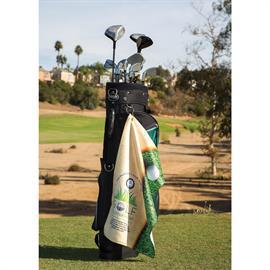Subli-Plush Microfiber Velour Golf Towel