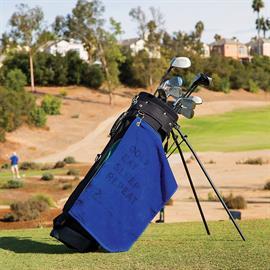 Medium Weight Velour Golf Towel