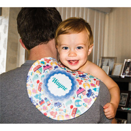 Peanut Burp Cloth