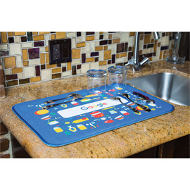 Sublimated Dish Mat