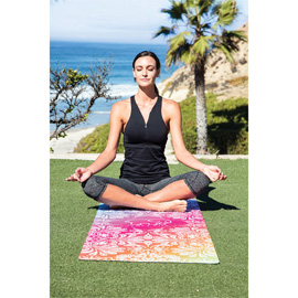 Sublimated Yoga Mat