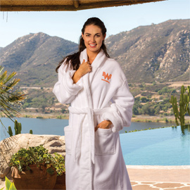 Ultra-Soft Presidential Shawl Collar Robe