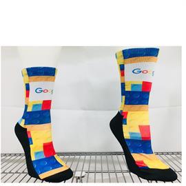 Sublimated Crew Socks