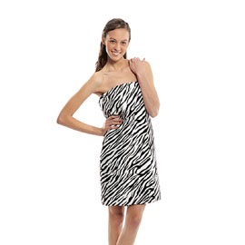 Designer Spa Wraps Zebra