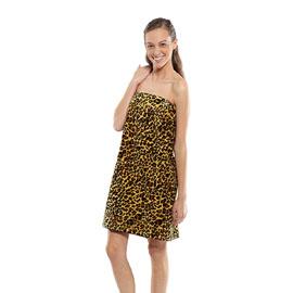 Designer Spa Wraps Leopard XXL Size