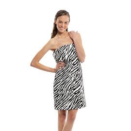 Designer Spa Wraps Zebra XXL Size